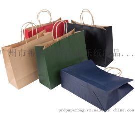 牛皮紙袋現貨定制袋機制袋手提紙袋禮品袋加印LOGO服裝廣告宣傳專業定制手提紙袋