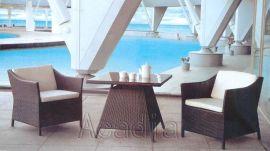 仿藤茶幾桌椅(AC-RF13)