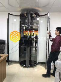 四川黑鈦圓形恆溫酒櫃 高端不鏽鋼酒櫃