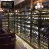 不鏽鋼酒櫃定制玫瑰金 葡萄紅酒櫃 葡萄酒櫃恆溫酒店