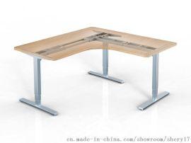 L型(90°)三腿電動升降桌 舉報 本產品支持七天無理由退貨