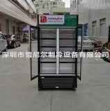 中雪牌双门冷藏展示柜/啤酒饮料冷藏雪柜/水果冷藏保鲜LG4-618