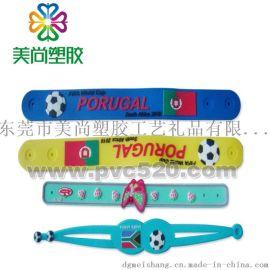 PVC軟膠手表帶 塑膠卡通手表帶 手表扣卡