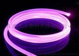 (厂家)发光耳机线 塑料光纤耳机线 光纤导光线 发光蓝牙耳机线