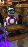 送餐机器人  萌萌哒  美女送餐机器人  餐厅传菜机器人