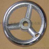 机床铸铁镀铬手轮 方边圆边三筋手轮 多种型号可选 择价择优