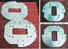 铝板冲压 铝板cnc加工 型材定制生产 铝合金冲压件