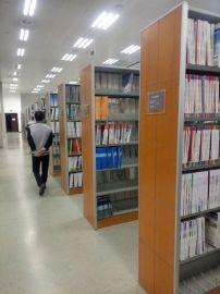 圖書館鋼木書架