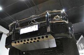 新款奔驰G500金属护板改装G350d巴博斯包围套件
