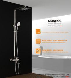 304不锈钢花洒,蒙诺雷斯68007大淋浴花洒
