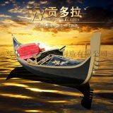 贡多拉游船澳门威尼斯人酒店景观装饰摄影木船欧式手划船