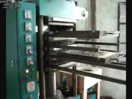 橡膠地磚80噸硫化機