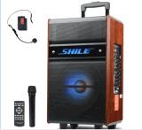 拉杆音箱 廣場舞音響帶無線麥克風 戶外擴音設備