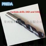 數控整體硬質合金鎢鋼3XD 5XD 加工鋼件不鏽鋼鑽頭