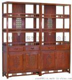 中式仿古书柜 专业红木家具 定制实木家具