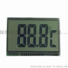 3个8字TN/HTN/STN/FSTN型笔段LCD液晶显示屏
