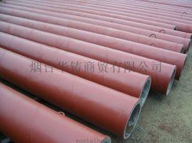 耐高温抗腐蚀铸石复合管