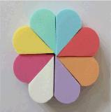 粉扑【五角形/圆形/方形/心形】 化妆海绵粉扑 可爱乳胶