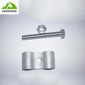 供应钢格板三型号固定安装夹栅格板热镀锌不变形卡扣