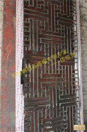 中式玄关不锈钢屏风隔断|伟煌业出品的大厅不锈钢隔断展示