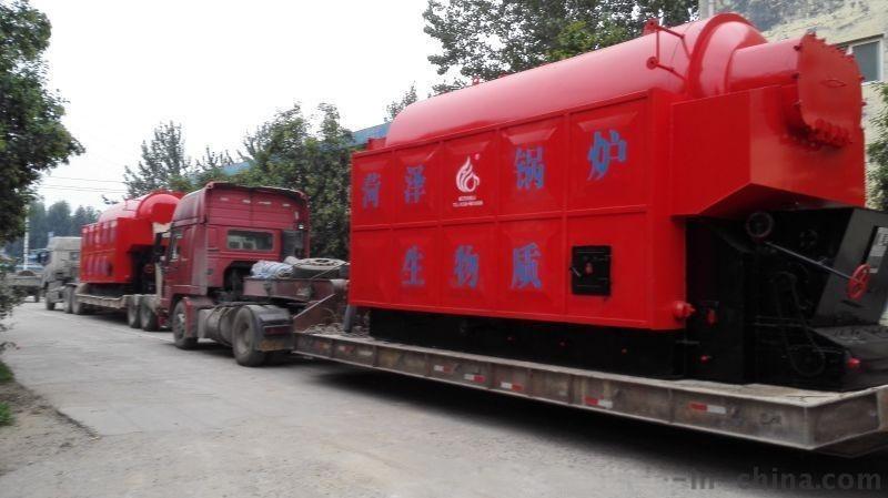 供应山东上市公司 菏锅牌 1-20吨  生物质蒸汽锅炉 生物质热水锅炉