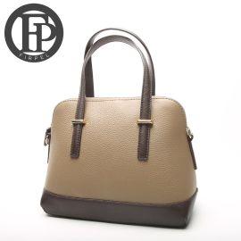 4色欧美风格时尚真皮包,真皮系列女士手提斜挎包