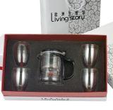高档礼盒玻璃泡茶杯套装