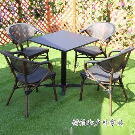 舒納和供應餐廳休閒桌椅 露天戶外桌椅