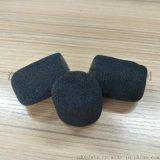 长期出售 植绒话筒海绵套 KTV咪套 皮耳机内植绒 可定做