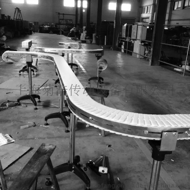 标准转弯半径LF879K450加厚塑料链板,是单绞八字型LF879K450塑料链板
