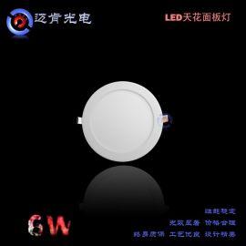 LED超薄节能环保全铝材全球畅销面板天花灯MKRML19S-3W