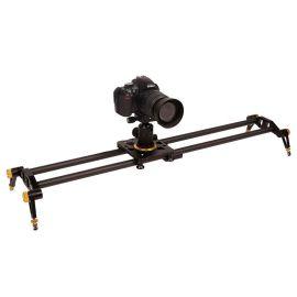 單反攝像機 碳纖維相機滑軌 便攜帶阻尼軌道6D/5D2/3攝影機