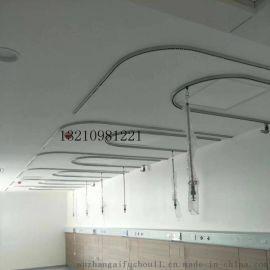 驻马店铝合金U型输液轨道 直型轨道 医用吊杆轨道