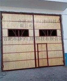 厂家供应安徽钢大门,厂房大门,仓库钢木大门