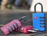 TSA309锌合金4位密码轮海关箱包挂锁