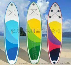 冲浪板轻舟水上滑板游泳板救生板帆板划板浮排3.3米