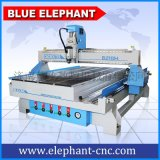 济南蓝象cnc模型加工质量保障1325大型木材立体雕刻机带侧旋转轴 数控木工雕刻机
