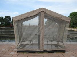 戶外休閒家具四人搖椅,配網紗(AC-5002)