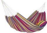 彩条布纹野营吊床
