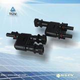 光伏MC4类转接头/2转1三通接头/PV防水连接器