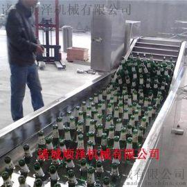 廠家直銷鵪鶉蛋蒸煮流水線 肉製品低溫巴氏滅菌設備 蔬菜清洗漂燙風幹線