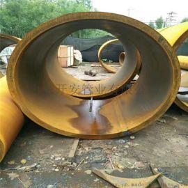 山東大口徑卷管,厚壁鋼板卷管