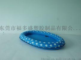厂家直销PVC充气宠物浮排 小狗浮排 充气狗狗浮垫