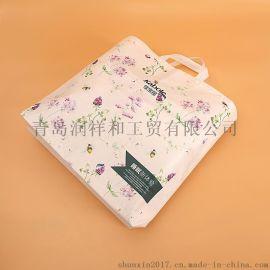 石家莊無紡布購物袋綠色使用出行必備透氣耐磨損