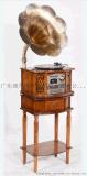 理丹實木電唱機