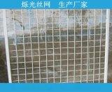 威海1*2米焊接钢丝网片厂家  白色喷塑网片