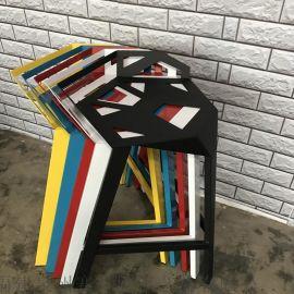 吧台椅酒吧椅子金属吧凳家用高脚椅变形金刚椅