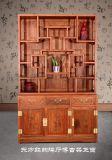 雅居堂紅木家具廠家直銷紅木博古架/紅木隔廳櫃