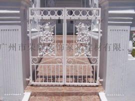 铁艺大门 别墅门  中式铁门  欧式新款铁门