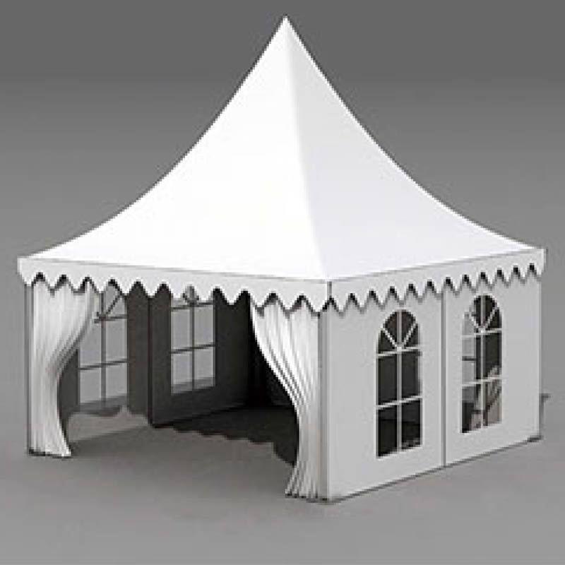 聚美篷房 欧式尖顶帐篷 体育赛事尖顶篷房图片